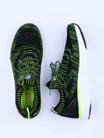 MEN'S TRAINING SHOE BLACK LIME