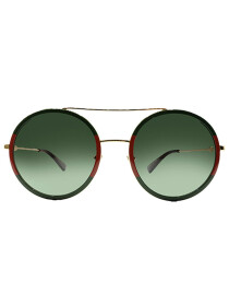 Round Frame Metal Sunglasses