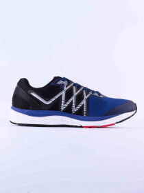 MEN'S RUNNING SHOE ROYAL-BALCK-DK-RED-LIME