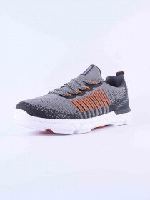 MEN'S LIFESTYLE SHOE DK.GREYMID-ORANGE