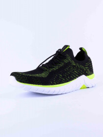 MEN'S TRAINING SHOE BLACK-LIME
