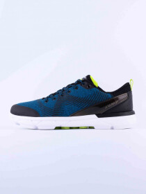Men's Training Shoes Black/Petrol/Lime