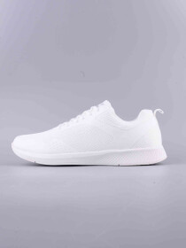 MEN'S RUNNING SHOE WHITE SILVER