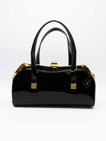 Shining Black Bag Women