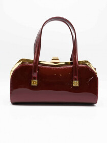 Shining Maroon Bag Women