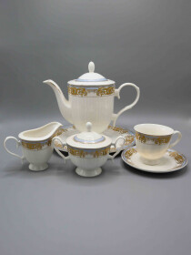 24 Pcs Multi color Tea Set