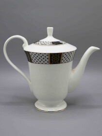 24 Pcs Two Tone Design Tea Set