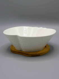 Apple Shape Solecasa Salad Bowl