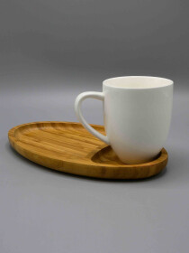 Solecasa Mug and Tray Set