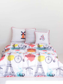 Summer Holiday 5 Pcs Kids Comforter