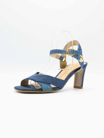 Queen Blue Women Heels