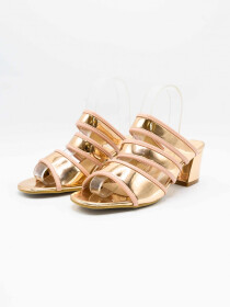 Queen Gold Women Heels