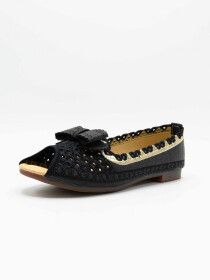 Aleeza Black Women Pumps