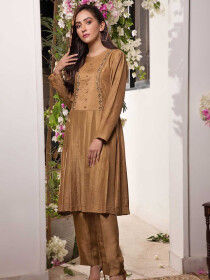 Beryl Embroidered 1 Pc Stitched Kurti