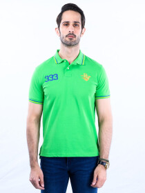 Nabeel & Aqeel Spartan The Gayle Polo Shirt Polo Green