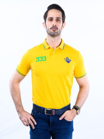 Nabeel & Aqeel Spartan The Gayle Polo Shirt Polo Yellow