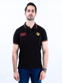 Nabeel & Aqeel Spartan The Gayle Polo Shirt Polo Black