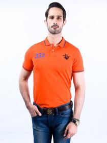 Nabeel & Aqeel Spartan The Gayle Polo Shirt Polo Orange