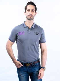 Nabeel & Aqeel Spartan The Gayle Polo Shirt Polo Grey