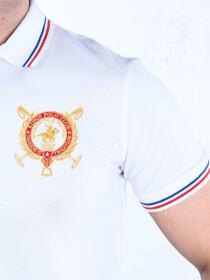 Nabeel & Aqeel Spartan The Shandur 31 Polo Shirt White