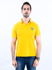 Nabeel & Aqeel Spartan Signature Polo Shirt Yellow