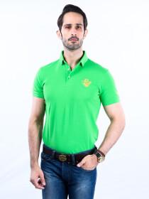Nabeel & Aqeel Spartan Signature Polo Shirt Green