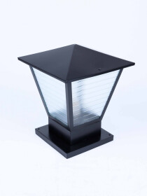 METAL LIGHT WITH 4 DIMENSION GLASS
