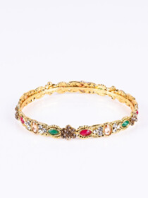 Multi Stone Creation Bangle