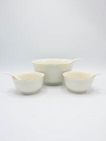 Golden Line Soup Set Ceramics 14Pcs