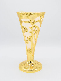 Golden Decor Vase