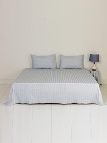 Silverline Plain Bed Sheet