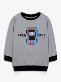 Little Crew chief captain Crew Neck