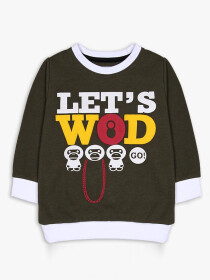 Let's wood Crew Neck