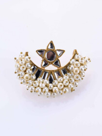 Gajra Star Earrings