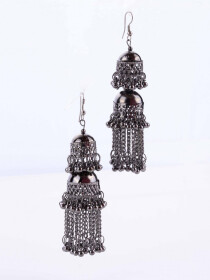 Double Jhumki Earrings