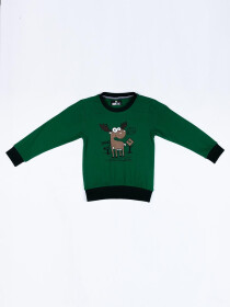 Deer logo Crew Neck