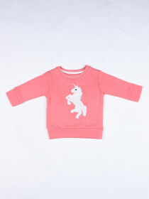 Unicorn logo Crew Neck
