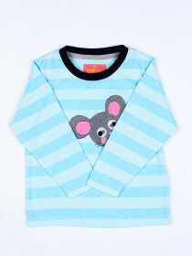 Little mouse logo Crew Neck