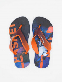 IPANEMA DECK BLUE/ORANGE INFANT