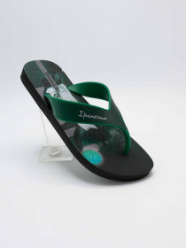 IPANEMA DECK BLACK/GREEN INFANT