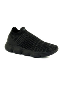 Marshmellow Black Shoes For Men