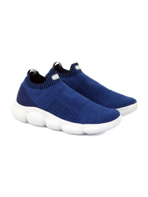 Marshmellow Navy Blue Shoes For Men