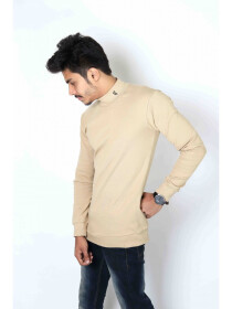 Imperial creamy Mock Neck
