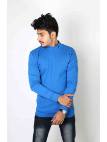 Glit Compact blue full sleeve T-shirt
