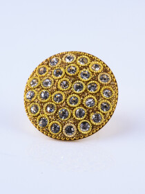 Studded Stone Ring