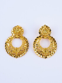 Hyderabadi Gold Plated Earrings