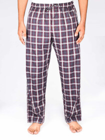 Multi Colored Check Cotton Baggy Pajamas