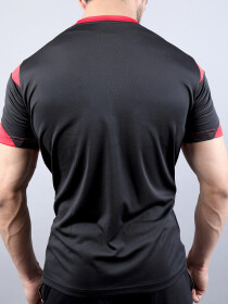 Black & Red Actifit T-Shirt