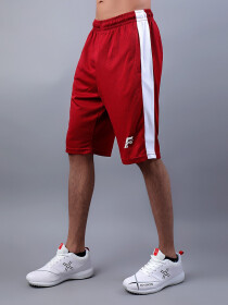 Red & White Actifit T-Shirt and Shorts