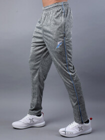Grey & Sky Blue Active wear Trouser